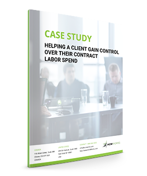Helping a Client Gain Control Over Their Contract Labor Spend Case Study