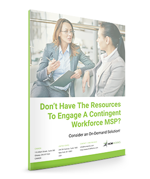 Don't Have The Resources To Engage A Contingent Workforce MSP? White Paper