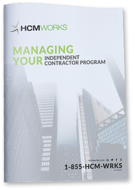 Managing Your Independent Contractor Program - White Paper