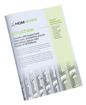 HCMWorks Financial Services and Procurement Case Study