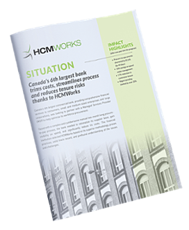 HCMWorks Financial Services and Procurement Case Study
